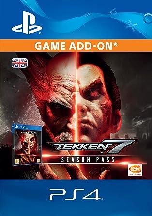 Tekken 7 Season Pass Edition DLC [PS4 Download Code - UK Account