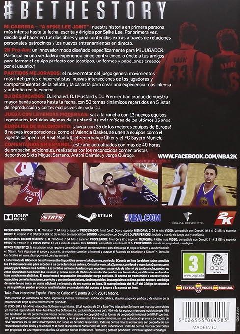 NBA 2K16: windows: Amazon.es: Videojuegos