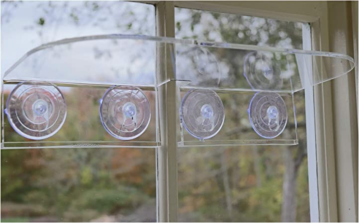Amazon Com Double Veg Ledge Suction Cup Window Shelf Create An