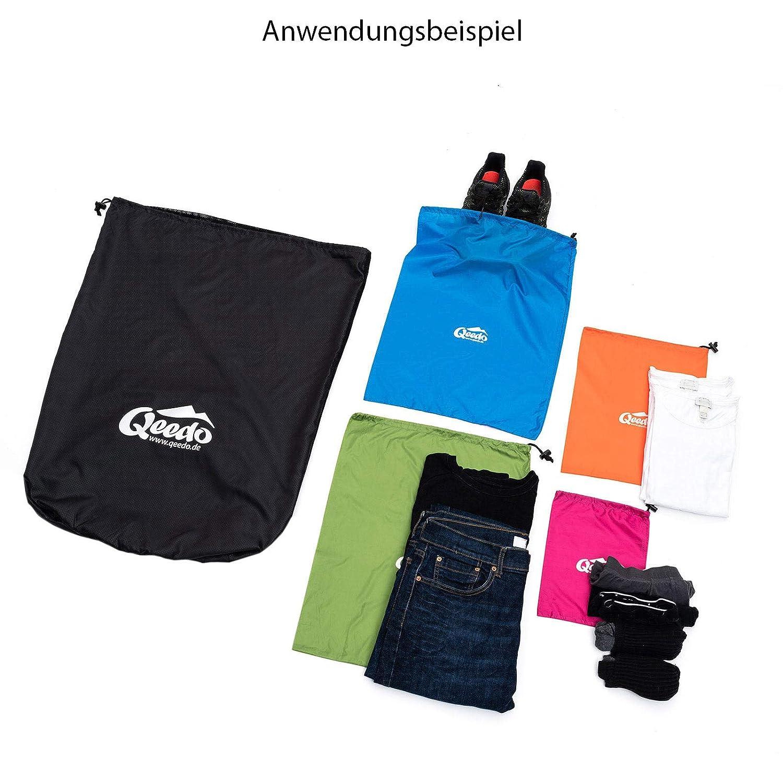 Qeedo Organizer Bags Packbeutel Set Für Koffer Rucksack und Camping