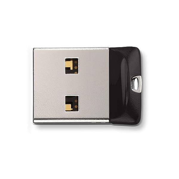 SanDisk 16GB Cruzer Fit USB Flash Drive - SDCZ33-016G-G35 (Tamaño: 16 GB)