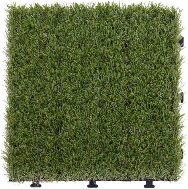 ぼん家具 ジョイント式マット 人工芝