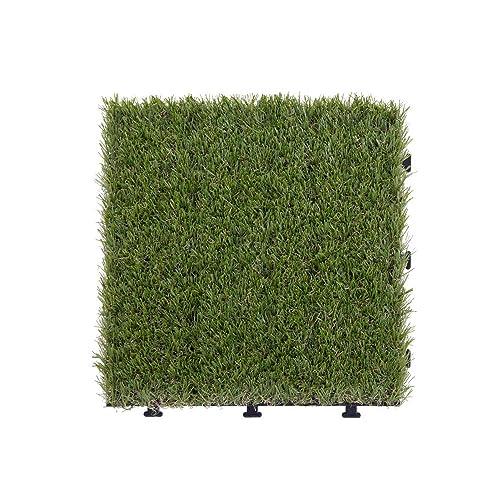 好きなサイズにカットできる!ぼん家具「ジョイント式人工芝 プランツ」