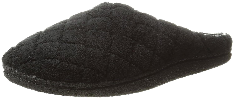 Dearfoams , Chaussons Noir pour , femme pour One Size Noir f18ac74 - latesttechnology.space
