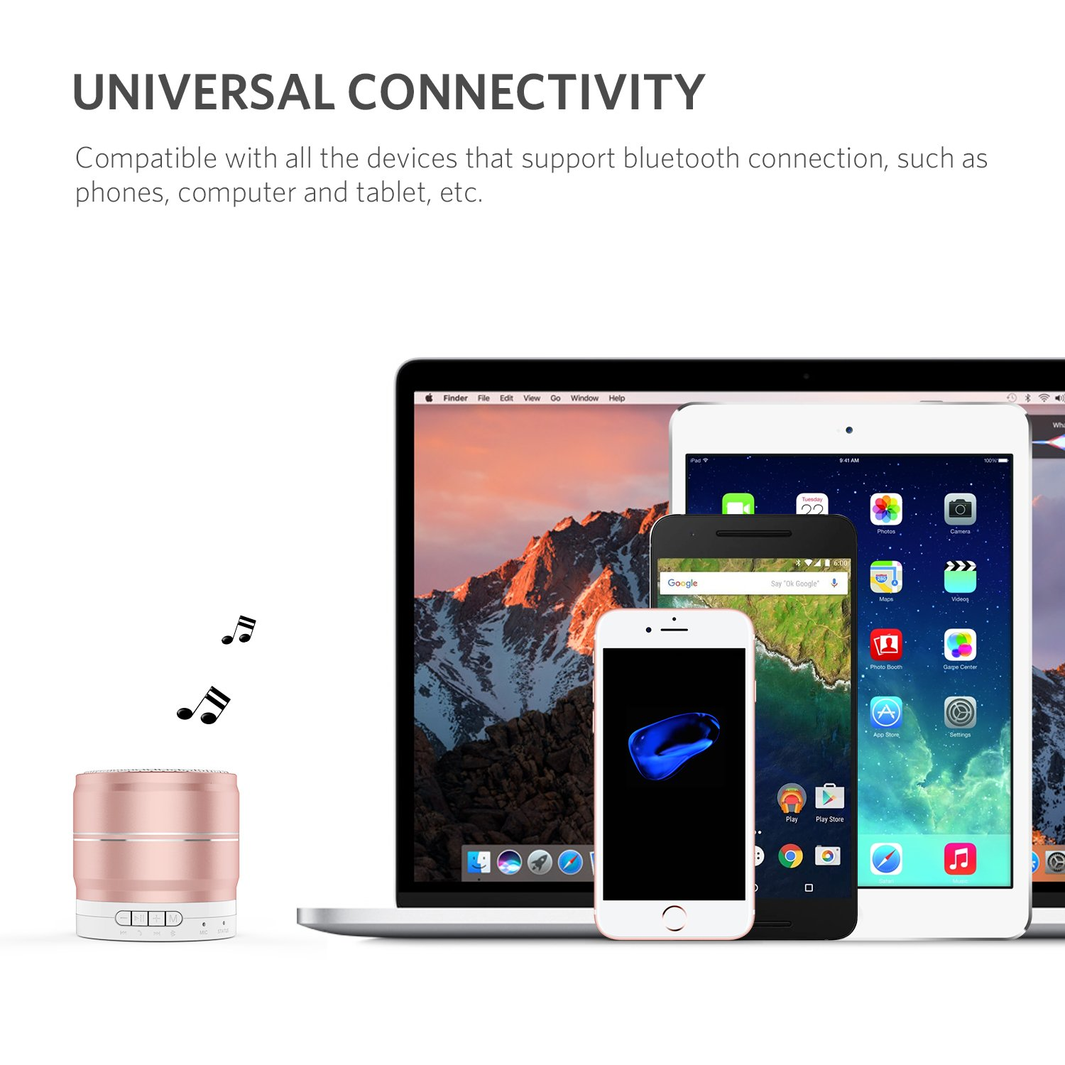Yoobao Mini Portable Wireless Bluetooth Speaker With Speakers Circuit On Mobile Phones Free Cellphone Repair Tutorials Built In Microphone 35mm Aux Input Handsfree Call Tf Card Slot 3w Compatible Iphone
