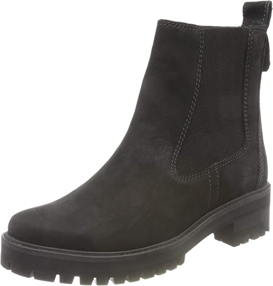 Courmayeur Valley Chelsea Boots, Black