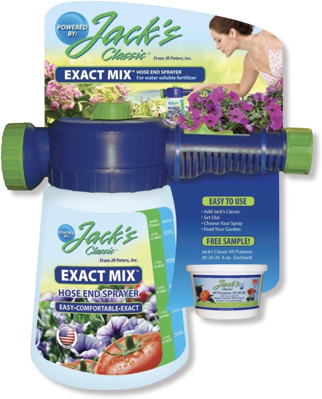 Jack's EXACT MIX Hose End Sprayer