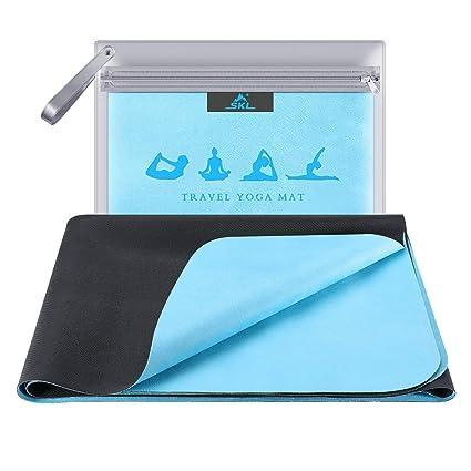 SKL - Esterilla de Yoga para Viajes, Plegable, 1/16 Pulgadas ...