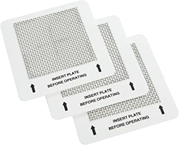 Ivation 3 Replacement Ceramic Ozone Plate for IVAOZAP04 5-in-1 HEPA Air Purifier & Ozone Generator