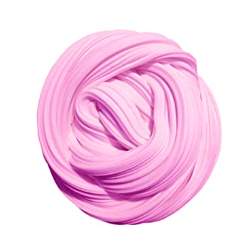 amazon salmon pink soft clay for slime diy toys clay for