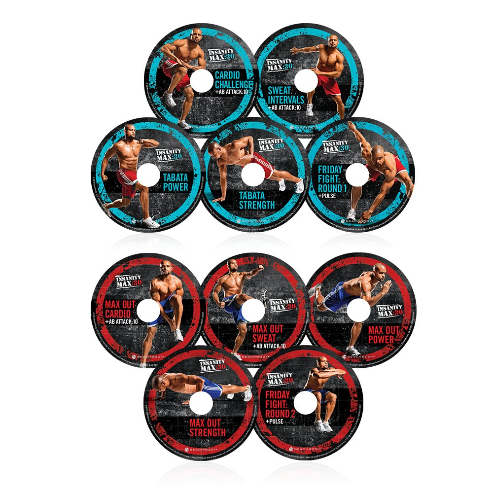 Shaun T's INSANITY MAX:30 Deluxe Kit - DVD Workout by Beachbody (Image #2)