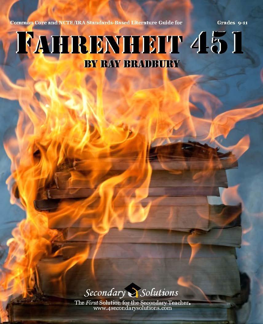 Fahrenheit 451 Teacher Guide - complete lesson unit for teaching the