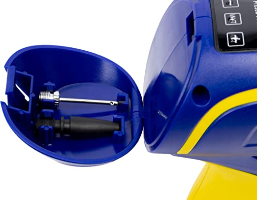 Goodyear Digitaler Luftkompressor Für Reifen Airtec Mit 12v Zigarettenanzünder Anschluss Und Mit Adaptern 3 5m Auto