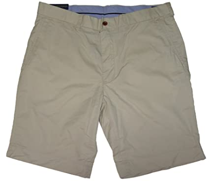 Polo Ralph Lauren Mens Chino Flat Front Shorts (Basic Sand, 29)