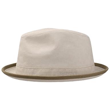 7a95342fbfa Stetson Delave Organic Cotton Summer Hat Cloth (XXL (62-63 cm ...