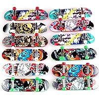 Hilai Un Mini Fingerboard Professionale per Bambini Che Giocano o Come Un Dito Skateboard Decoration 3 Pezzi (Casuale)