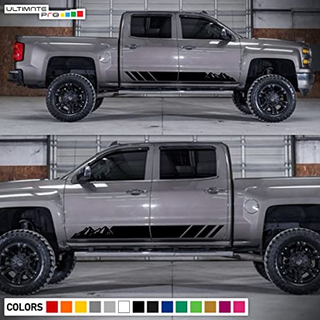 Chevy Silverado Stickers Kamos Sticker - Chevy decals for trucksmore decalchevrolet silverado rally edition unveiled