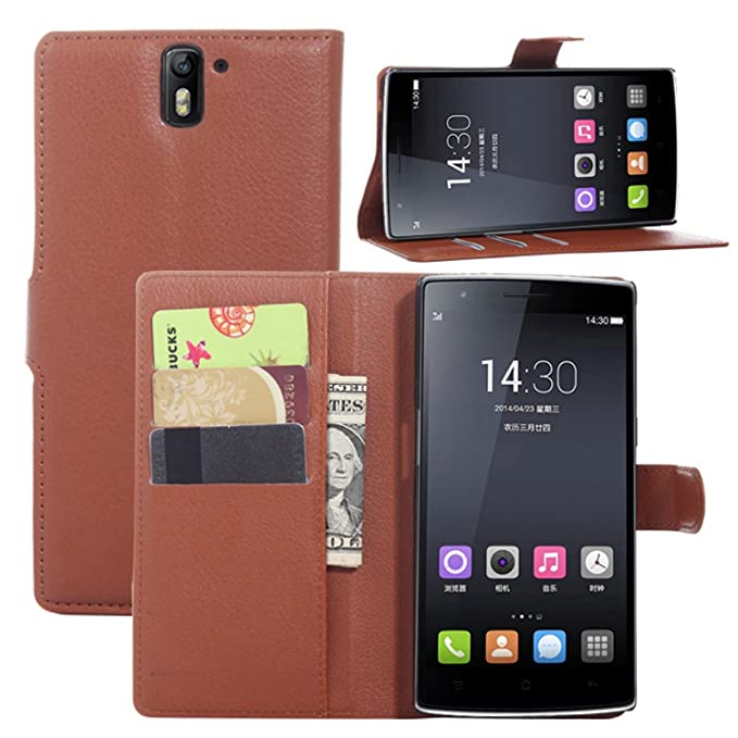 2 opinioni per Custodia Cover per OnePlus One- Ycloud Portafoglio Tasca Book Folding Custodia