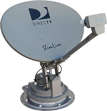 Winegard Sk Swm3 Directv Trav Ler Sistema Satelital Para Vehículo Recreativo Directv Antena Satelital De Alta Definición Para Vehículo Recreativo Soporte Para Techo Satélite Automático Visualización De Varios Satélites Automotive