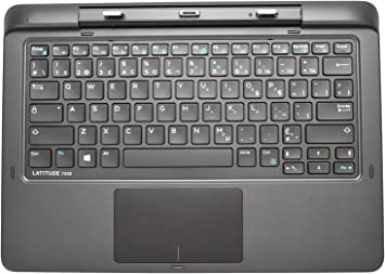 New for Dell Latitude 13 7350 2-in-1 Keyboard US Black with Backlit