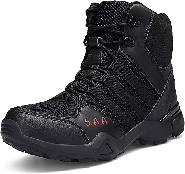 Men's Boots Intelligent Men Boots Male Rubber Combat Ankle Work Safety Shoes Size 40-46 Autumn Winter Snow Boots Men Sneakers