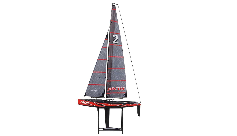 Amewi 26061 - Focus V2 -100cm Racing Yacht, 2, 4 GHz, RTR