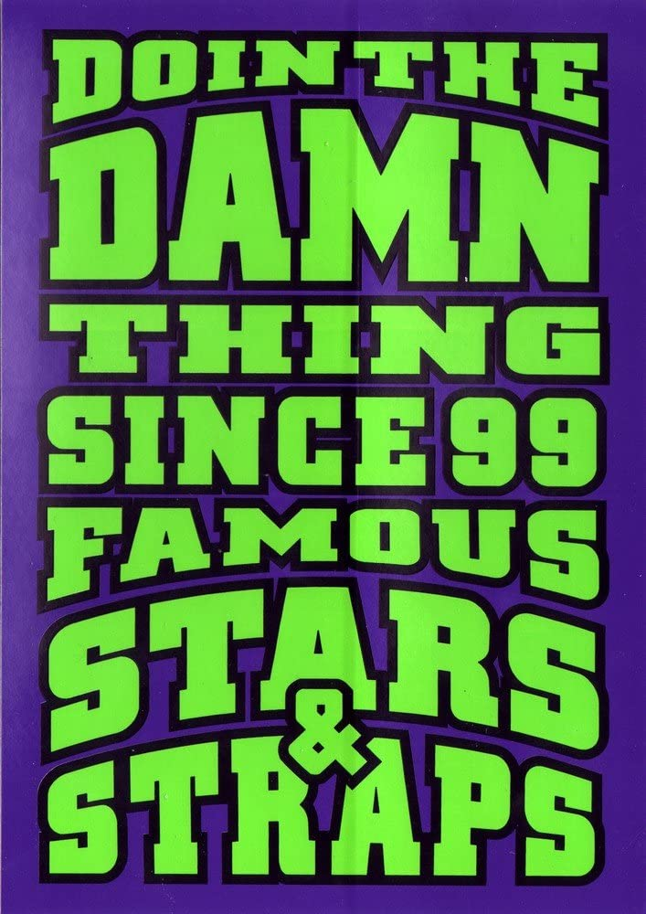 Famous Stars And Straps Skateboard Sticker Decade MX Motocross sk8 skate bmx