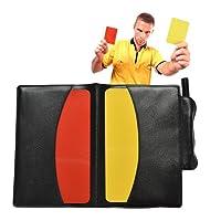 Samtlan Rote Gelbe Karte, Schiedsrichter Karten mit Score Blätter, Bleistift, Zubehör für Basketball, Fußball, Volleyball
