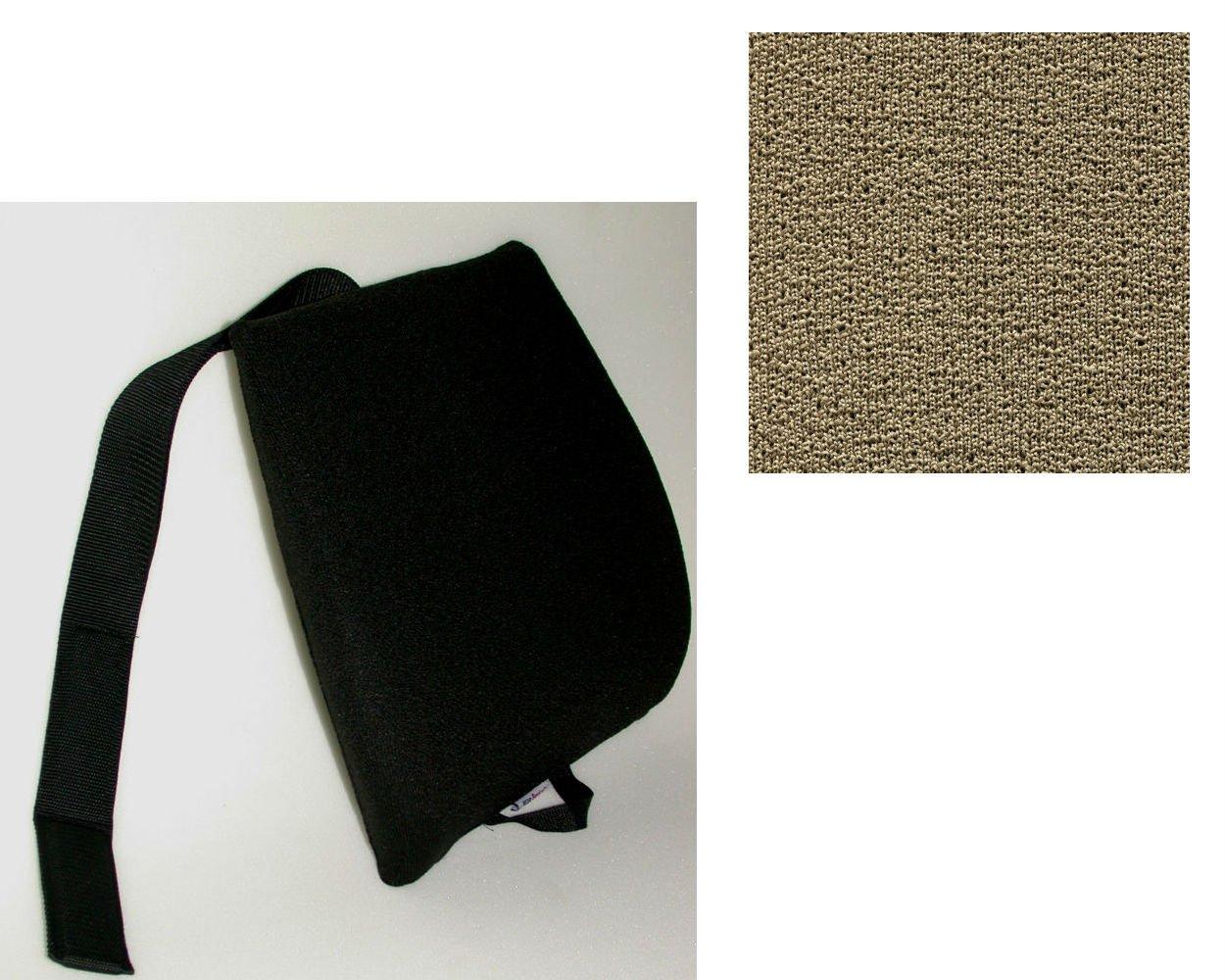 Mc Carty's Sacro-Ease Ergo Curve Cush Lumbar Support Cushion, Cappuccino