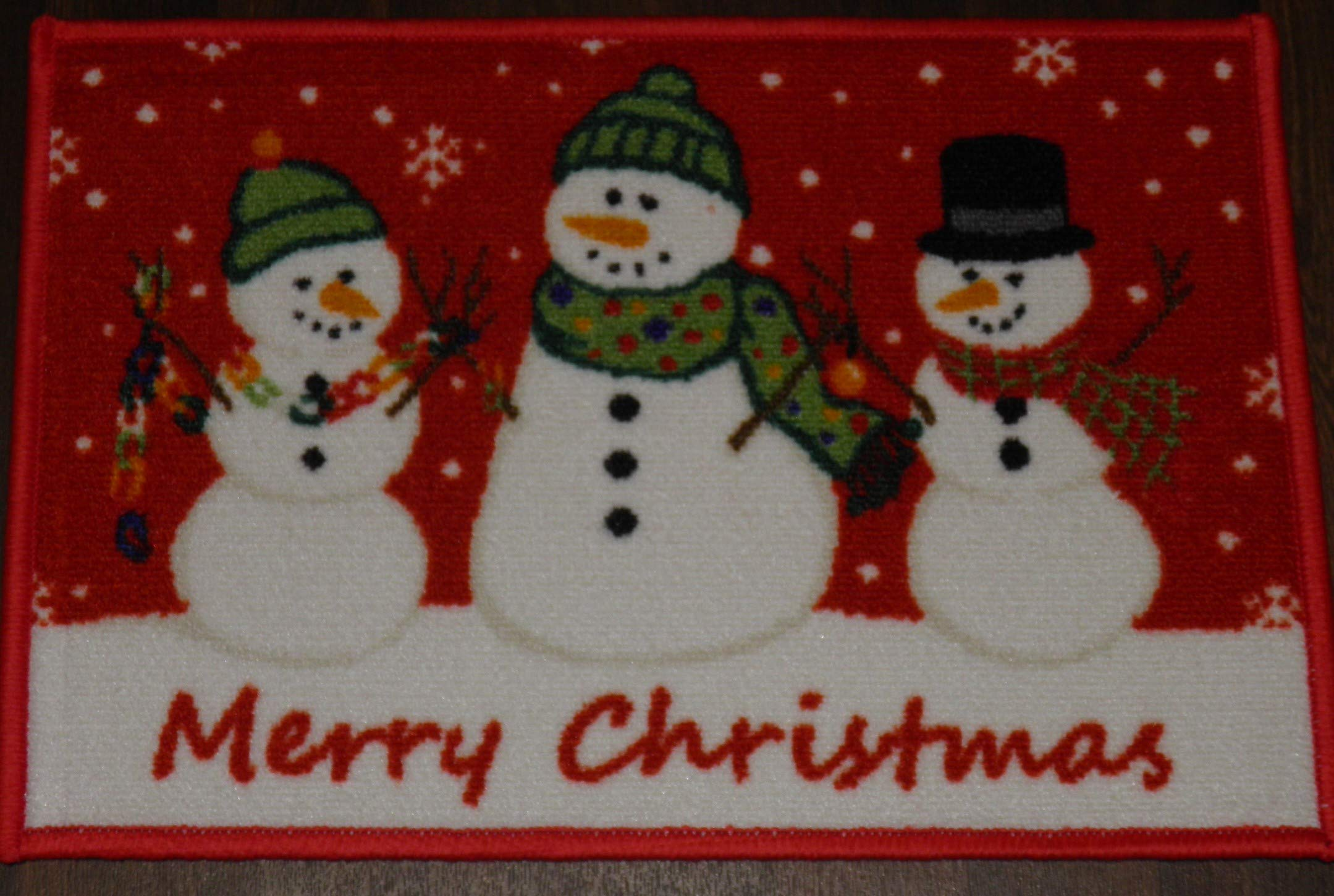 Non Slip Christmas Door Mat 40x60cm Various Designs