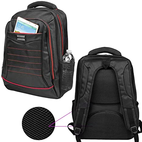 6462960f9ef9 Amazon.com: 14 to 15.6 Inch Laptop Carrying Bag Padded Backpack Fit ...