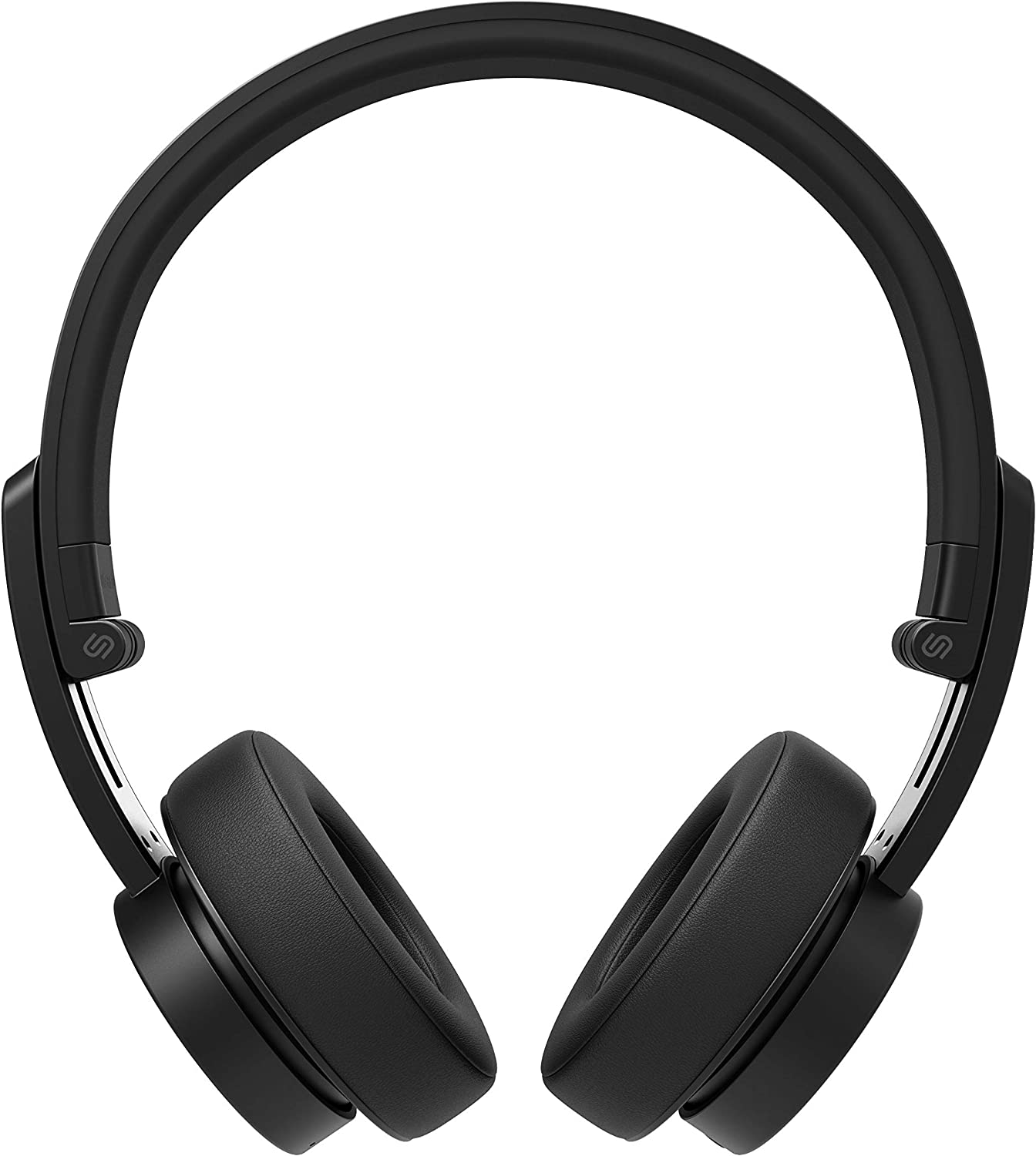 Urbanista Detroit Bluetooth On Ear Headphones [ Fashion Conscious ], Up to 12 Hours Play Time, Call-Handling with Microphone - Dark Clown (Renewed)