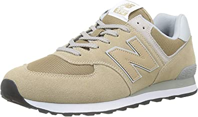 new balance 574 hombres beige