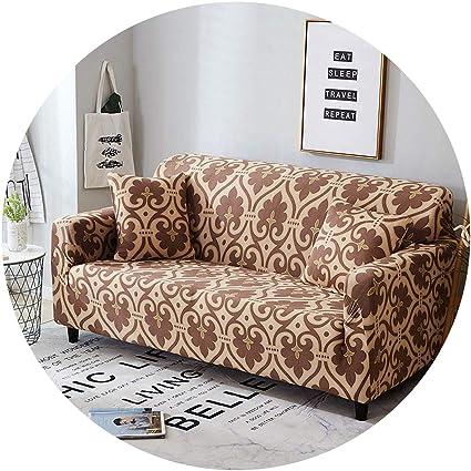 Amazon.com: better-caress Sofa Cover Cotton Elastic ...