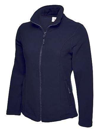4c08e3eee20 UC607 - Navy - XXL - Ladies Classic Full Zip Fleece Jacket  Amazon.co.uk   Sports   Outdoors