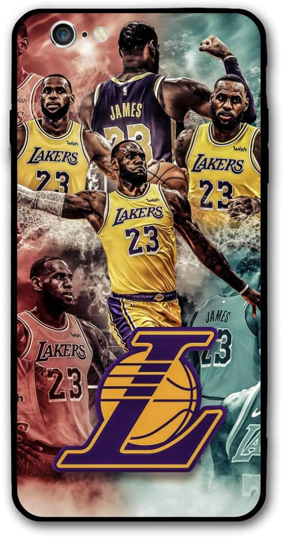 """iPhone 6 Case 6s Case 4.7"""",Basketball Star Case Cover for iPhone 6/6s (Lebron-la-Lakers)"""