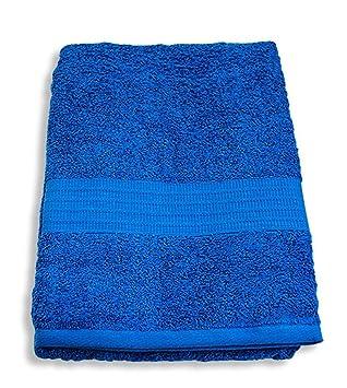 Giosal - Toalla de baño Bassetti de Rizo Puro de algodón, 90 x 160 cm, Lisos: Amazon.es: Hogar
