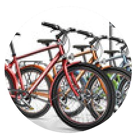 alfombrilla de ratón Bicicleta, bicicletas, alquiler de bicicletas, opcional - ronda - 20cm