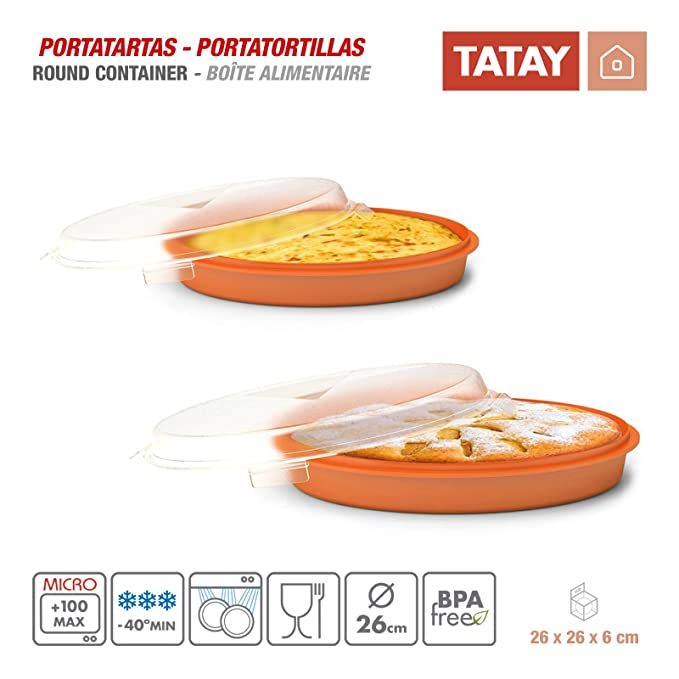 Tatay - Set de 2 portatortillas, 26 x 26 x 6 cm 1165109: Amazon.es ...