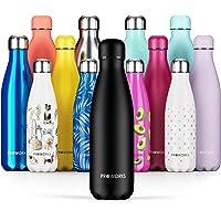 Proworks Botella de Agua Deportiva de Acero Inoxidable | Cantimplora Termo con Doble Aislamiento para 12 Horas de Bebida…