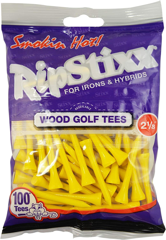 Pride Golf Tee 2-1/8 Inch 100 Count RIPSTIXX
