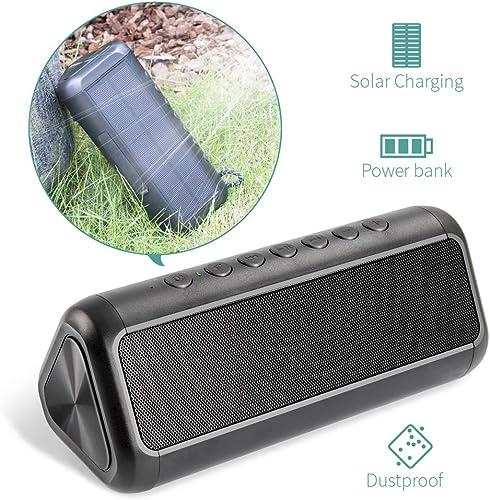 Elzle Portable Outdoor Bluetooth Speaker