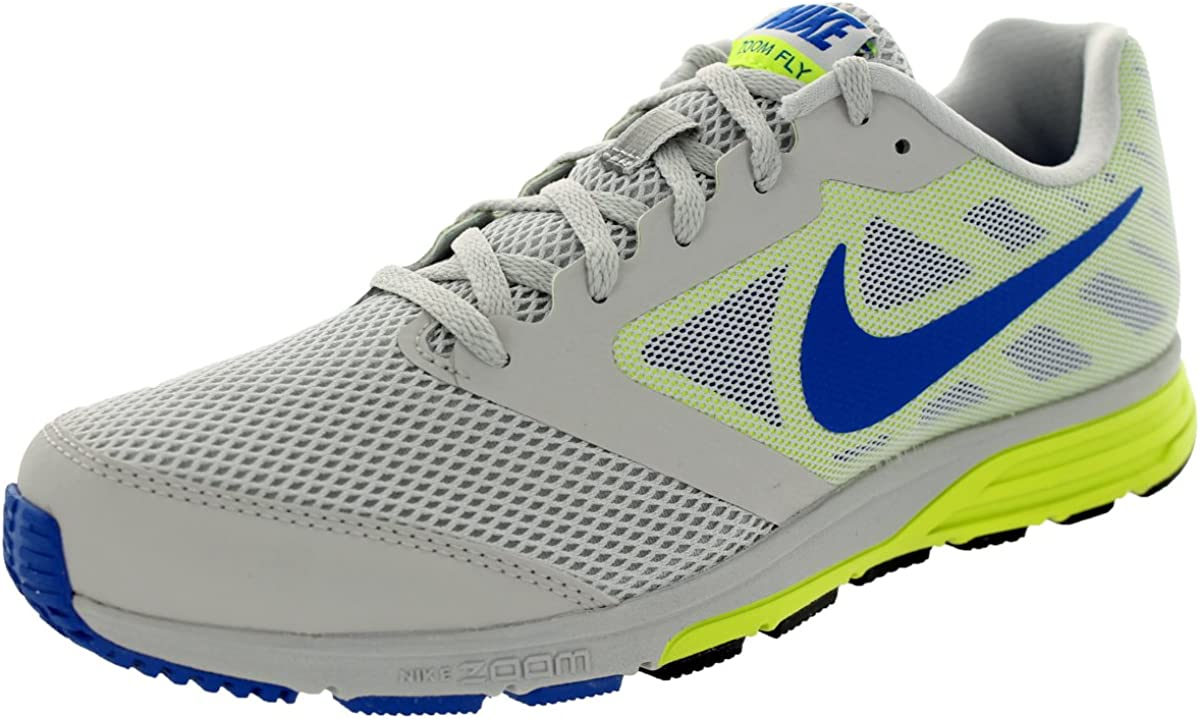 no pagado Alcalde más lejos  Nike Performance Zoom Fly 630915–004 Running Shoes Yellow/Grey, 43/45.5  X-Running Shoes Gray Size: 10.5: Amazon.co.uk: Shoes & Bags