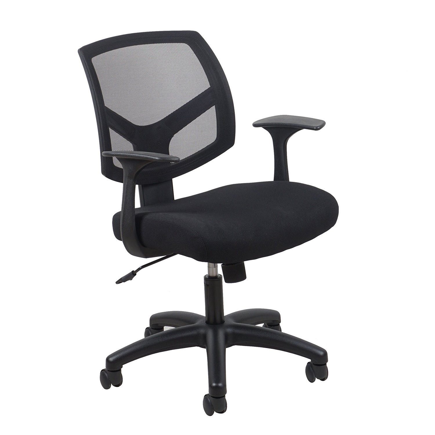 Essentials Swivel Mesh Back Task Chair with Arms - Ergonomic Computer/Office Chair (ESS-3030)