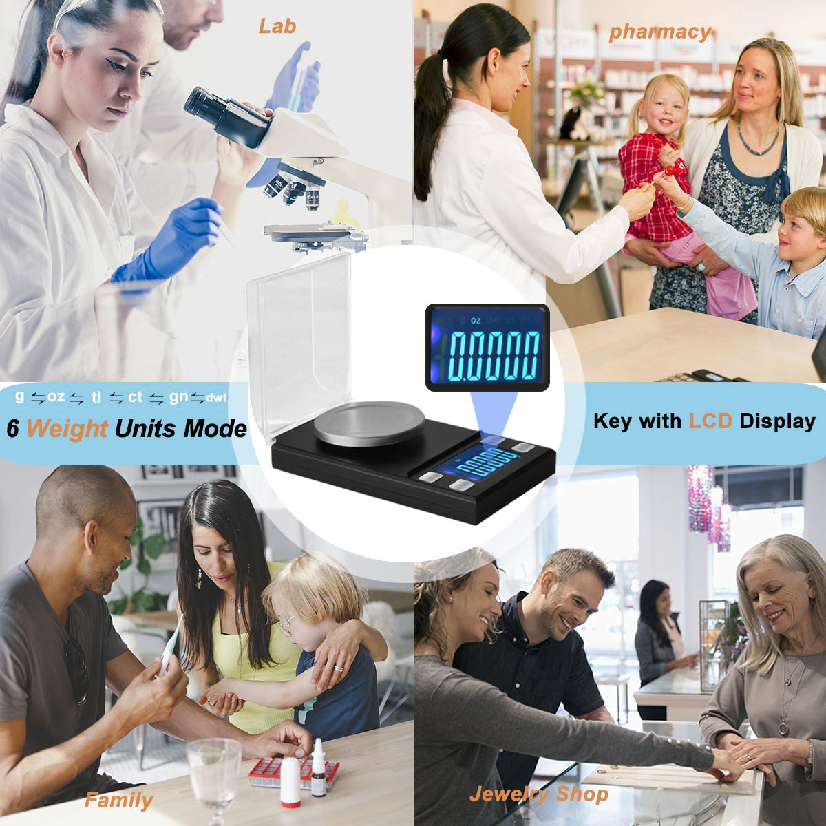 exciting promotions Milligram Scales High Precision 50 x 0 ...