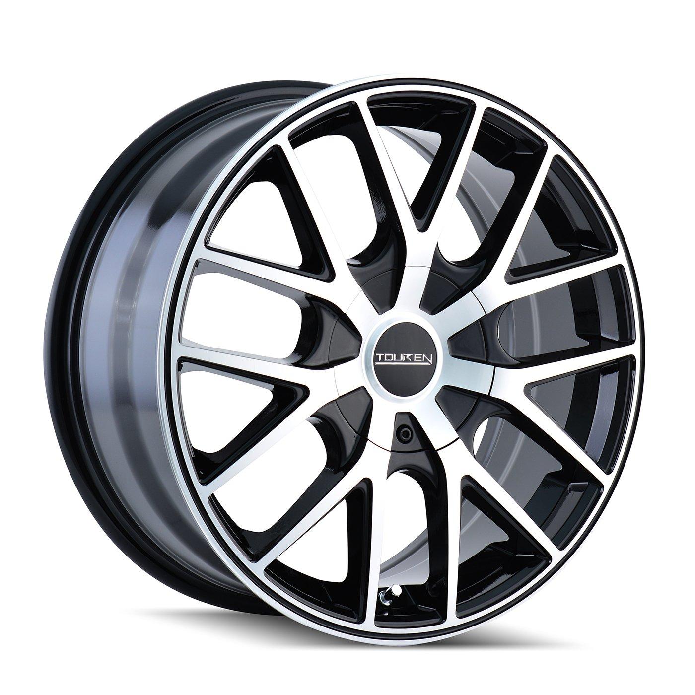 Touren TR60 3260 Black Wheel with Machined Face (20x8.5''/5x115mm)