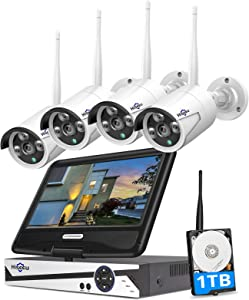 Best Security Camera System Under 300 Reviews [Amazing Brand of 2020] 1