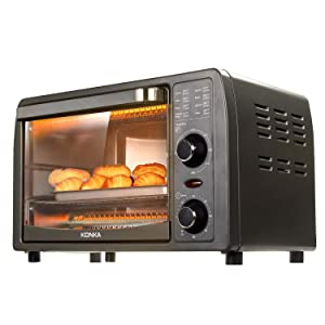 Mini Electric Oven by Konka 1050 WattsSuitable for 1 or 2 Person