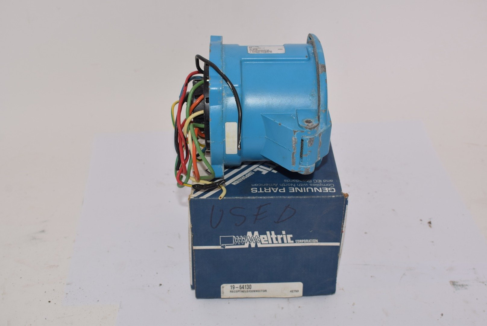 Meltric 19-64130 DN20 Receptacle Connector 20A 13P Multi Pin