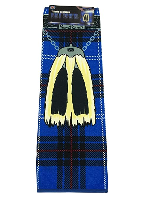 Scottish Tartan Instakilt Beach Towel Available In Various Colours